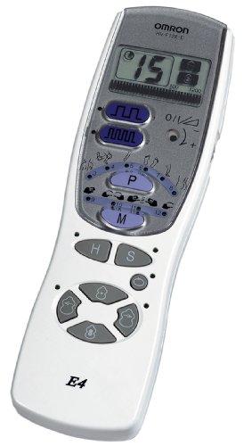 Omron T.E.N.S. E4 - Electroestimulador, color blanco y gris