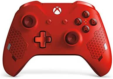 Microsoft Xbox Wireless Controller, Sport Rot (Special Edition)
