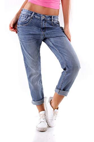 OSAB-Fashion 10334 Damen Jeans Karostar by Lexxury Hose Regularfit...