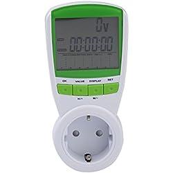 UEB Medidor Contador de Enchufe Consumo Electricidad con Monitor -EU TS-838