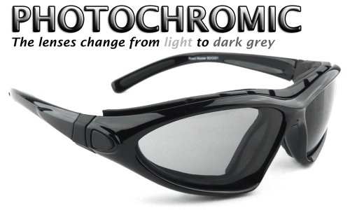 7d5dc1cdcd Bobster Roadmaster – Gafas de lentes de gafas de sol – photochomic