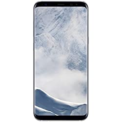 "Samsung Galaxy S8 Plus - Smartphone libre de 6.2"" QHD+ (4 G, Bluetooth, Octa-Core S, 64 GB memoria interna, 4 GB RAM, camara de 12 MP, Android), Plata, - [Versión española]"