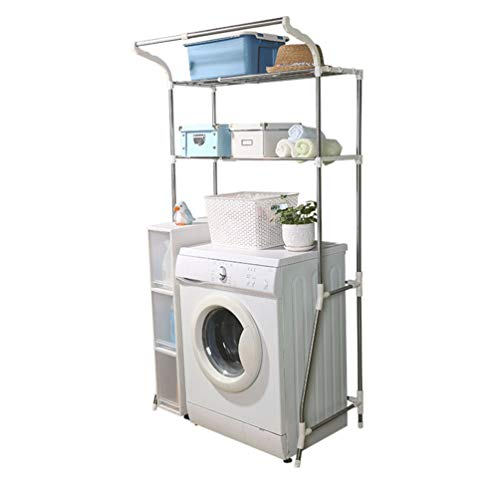 Hershii da bagno con ripiano bagno salvaspazio organizer rack supporto regolabile a piani filo...