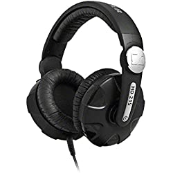 Sennheiser HD 215 - II - Auriculares de diadema cerrados (Reducción de ruido), negro