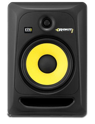 KRK Rokit RP8 G3 Single | Active Studio Monitor Speaker, [Importado de UK]