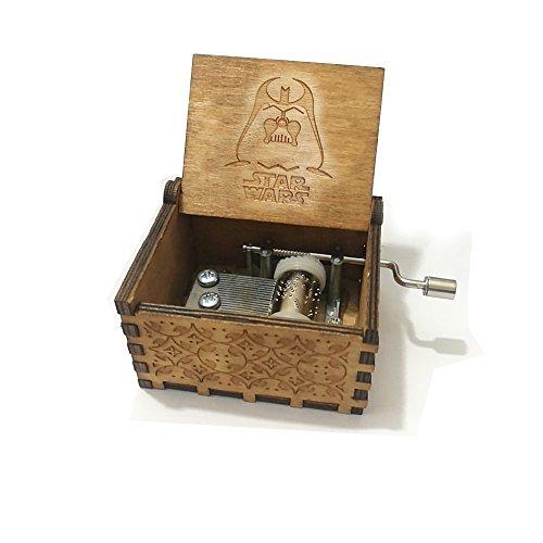 Carillon 'Star Wars' in pura mano-classica carillon in legno a mano creativo in legno artigianato...
