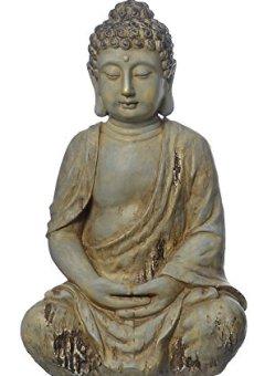 Buddha-Figur, Buddha meditierend Buddha-Skulptur, jardín, Feng Shui
