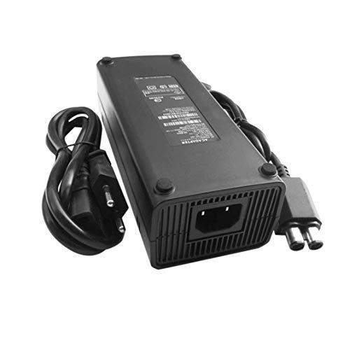 Cable del Cargador de la Fuente de alimentación del Adaptador de la CA 100-240V para el Enchufe Delgado de la UE de X-Box 360