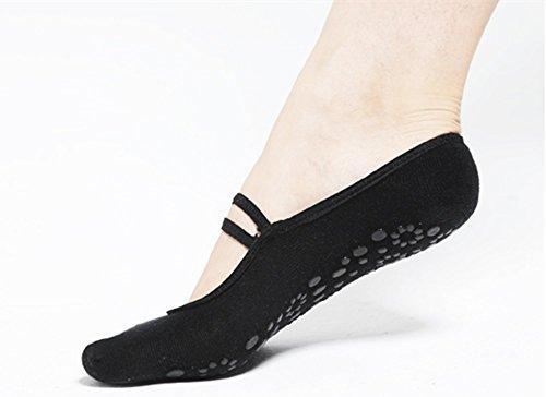 Meshen Calze Antiscivolo Donna, esercizio di fitness yoga palestra antiscivolo calzini massaggio dei...