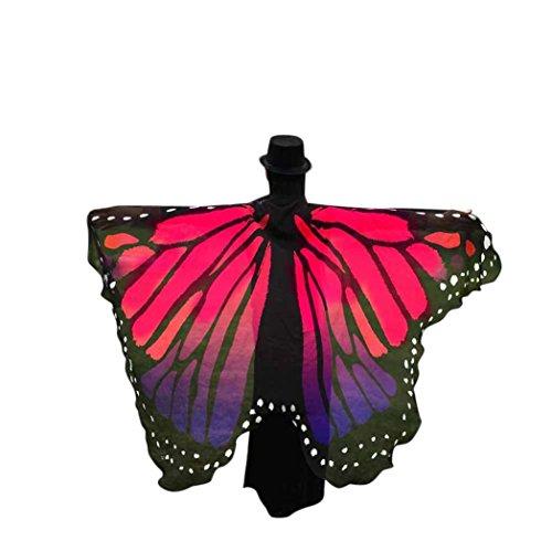 Culater® Volando Hada Accesorio Traje Duendecillo Señoras (Rosa)