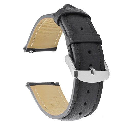 Cinturino Quick Release Orologi Bracciale Banda 20mm Alta Qualità Vera Pelle Inossidabile Fibbia Super Morbido Uomini Donne 18mm 19mm 20mm 22mm