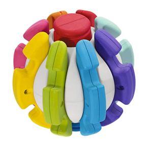 Chicco-00009374000000 Pelota transformable, Multicolor (00009374000000)