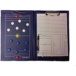 Muma Sport - TAVOLA TATTICA PALLANUOTO - tactic board waterpolo, magnetica, blocco notes, penna