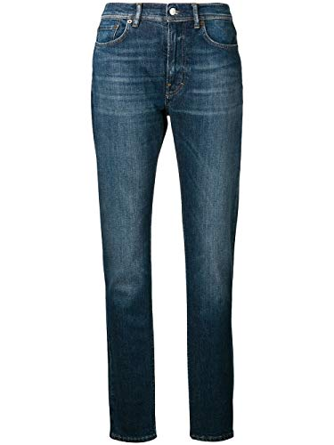ACNE STUDIOS Damen A00015838 Blau Baumwolle Jeans