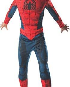 Rubies Disfraz de Spiderman para adultos, disfraz de superhéroe de Marvel Los Vengadores, talla XL