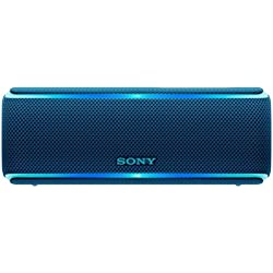 Sony SRS-XB21 Portable Waterproof Wireless Bluetooth Speaker with NFC (Blue)