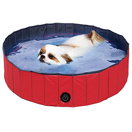FEMOR Doggy Pool das Planschbecken Hundepool Swimmingpool für den Hund 3 Größe (160*30cm)