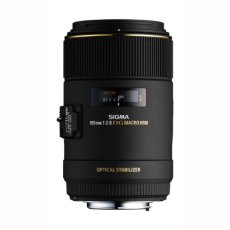 Sigma DG Macro HSM - Objetivo para Canon (105mm, f/2.8, macro, 62 mm), color negro