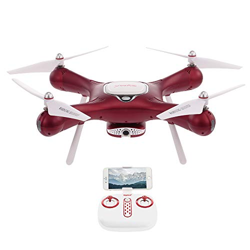 Goolsky Originale Syma X5UW-D WiFi FPV Regolabile 720P HD Fotocamera RTF Flusso Ottico Posizionamento Altitude Hold Quadcopter (X25W)
