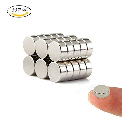 Wukong 30 Pezzi Magnete Frigorifero Forti magneti del frigorifero, multi-use Dry Erase Board magneti...