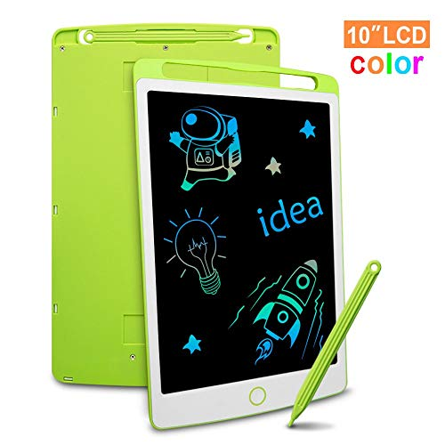 Richgv LCD Writing Tablet, 10 Pollici Colorato Elettronico Tablet Tavoletta Grafica Digitale...