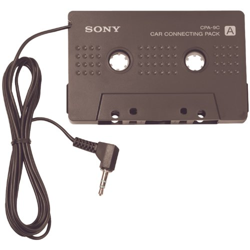 Sony CPA-9C Car Connecting Pack for MD and CD Walkman - Black