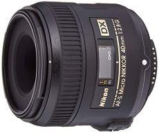 Nikon AF-S DX - Objetivo para cámara réflex y EVIL