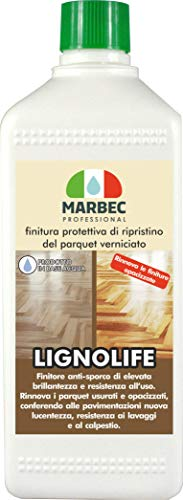 Marbec - LIGNOLIFE 1LT | Finitura Protettiva di ripristino del parquet Verniciato