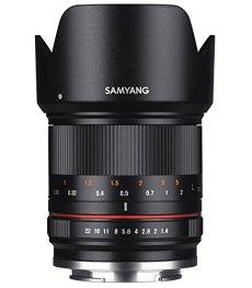 Samyang CSC-Mirrorless - Objetivo fotográfico para Sony E (21mm F1.4 ED AS UMC CS), Negro