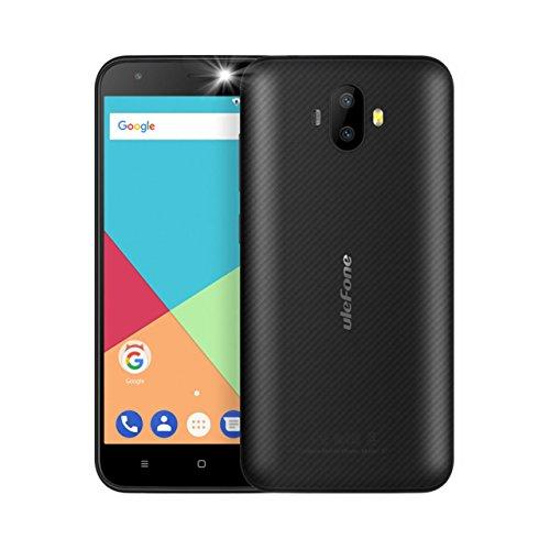 "Ulefone S7 - 5,0\"" 3G Smartphone, Android 7.0 Quad Core 1GB+8GB, Dual SIM, Hauptkamera 8MP+5MP, Frontkamera 5MP, Entsperrt Handy"