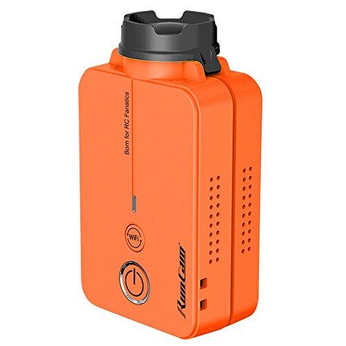 RunCam 2 - Orange - La più piccola camera per FPV con - WIFI integrato - Registrazione FullHD 60fps...
