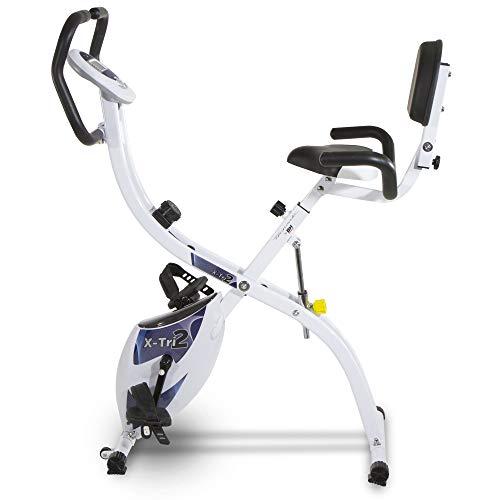 Bicicleta estática plegable X-TRI2. 3 posiciones entrenamiento. Tecnovita by BH YF910