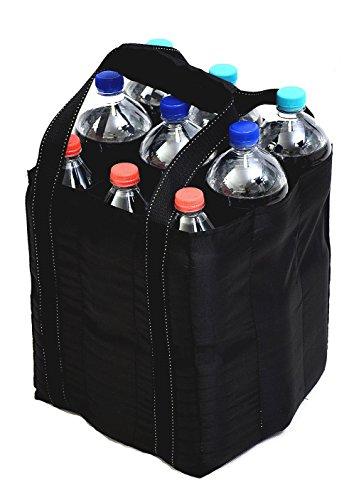 Best For Everyone Tragetasche, Flaschentasche Bottlebag Tasche für 9 Flaschen Einkauf, sehr gute Qualität