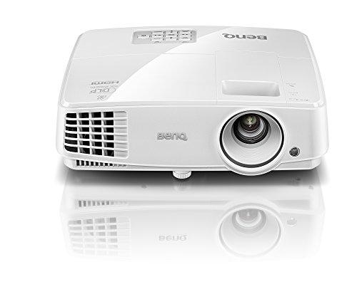 BenQ MS527 - Proyector DLP 3D (SVGA, 3300 lúmenes, 3D, HDMI), color blanco