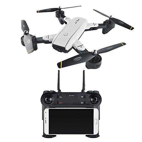 FEICHAO Dual Camera Smart Edition Drone SG700 con Gesture Funzione di cattura FPV RC Quadcopter...