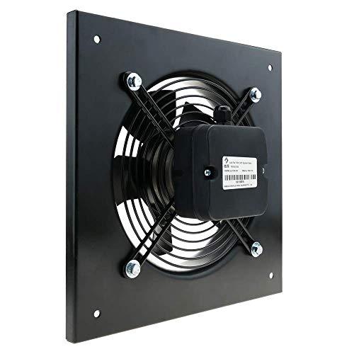 PrimeMatik - Estrattore d'Aria a Muro di 300 mm per la Ventilazione Industriale 2550 RPM Quadrati...