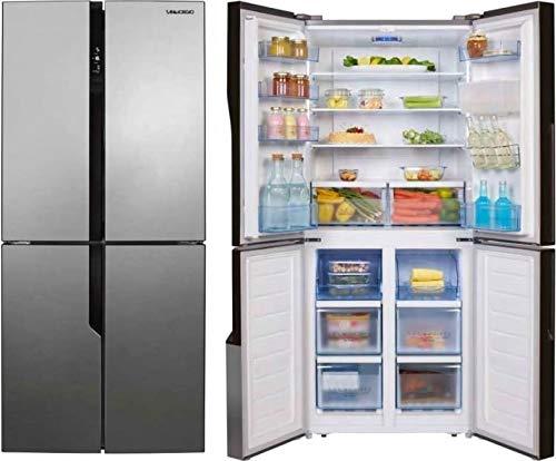 SanGiorgio SQ50NFXD frigorifero side-by-side Libera installazione Acciaio inossidabile 431 L A+