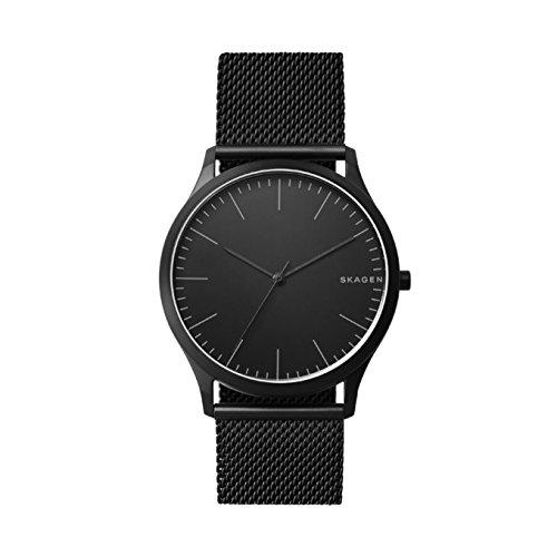 Skagen Herren Analog Quarz Uhr mit Edelstahl Armband SKW6422