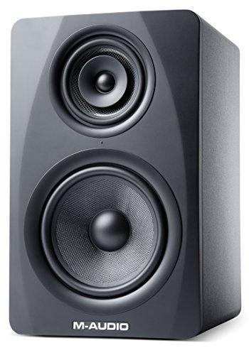 M-Audio M3-8 Black - Monitor de estudio activo de 3 vías con woofer
