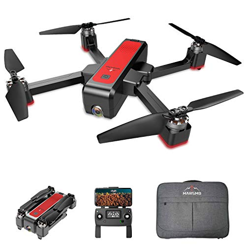 MARSMO Drone B4W WiFi FPV con 2K Live Camera Regolabile 3 modalità di Volo, Distanza di Controllo Circa 1,6 km, Ritorno Intelligente, Pianificazione del Percorso Intelligente