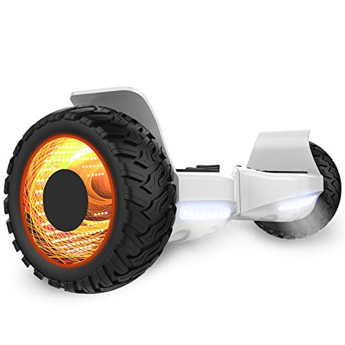 GeekMe Hover-Board Fuoristrada 8.5 Pollici Scooter Elettrico per utti i Terreni Auto bilanciamento...