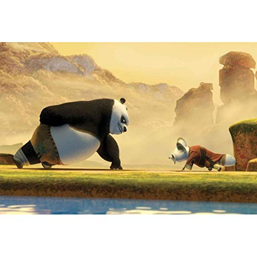 WZJ-Puzzle Movie Kung Fu Panda 3 Wood 300/500/1000/1500 Giocattoli educativi for Bambini for Adulti...