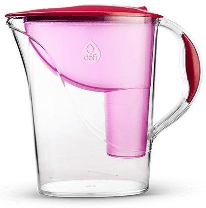 Dafi Atria Classic 2.4L water filter jug with cartridges bundle (raspberry) (1 month of Dafi Classic) (1 cartridge)