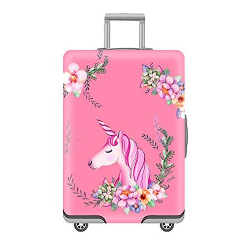 Cover Proteggi Valigia Elasticizzata in forma Flamingo 18-32 pollici Suitcase Cover Cover Proteggi...