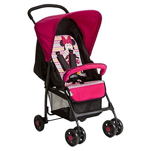 Hauck 171387 Minnie Geo Passeggino Sport, con Seduta in Posizione Distesa, Pieghevole, per Bambini a Partire da 0 Mesi fino a 15 kg, Disney Minnie Geo Pink (Rosa)