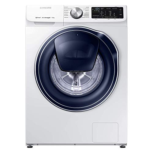 Samsung PED WW90M642OPW/ET Lavatrice QuickDrive, 9 kg, 1400 rpm, 9 Liters, 49 Decibel, Bianco