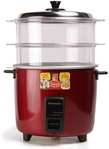 Panasonic SR-WA22H(SS) - 750 Watt Automatic  Cooker Warmer 5.4 Litre Food Steamer