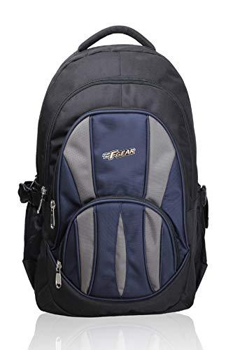 F Gear Adios 30 Liters Black & Blue Backpack