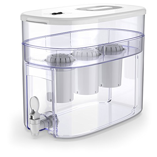Invigorated Water pH RECHARGE Alakaline 9L water filter dispenser with cartridges bundle (white) (9 months of Invigorated Water PH001 Alkaline) (3 cartridges)
