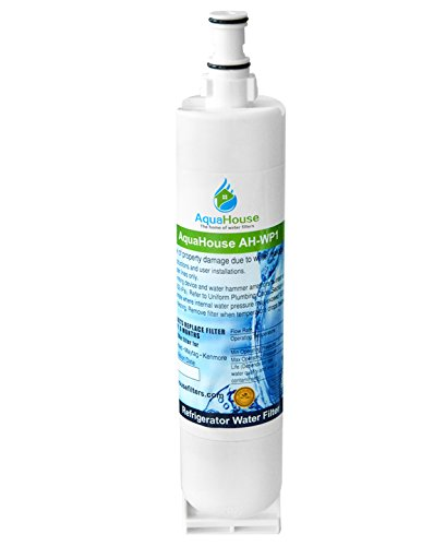 AquaHouse AH-WP1 filtro per l'acqua compatibile per Whirlpool frigo SBS002, 4396508, 481281729632,...